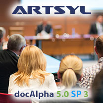 Artsyl Partners Showcase docAlpha at Sage's Annual Conference
